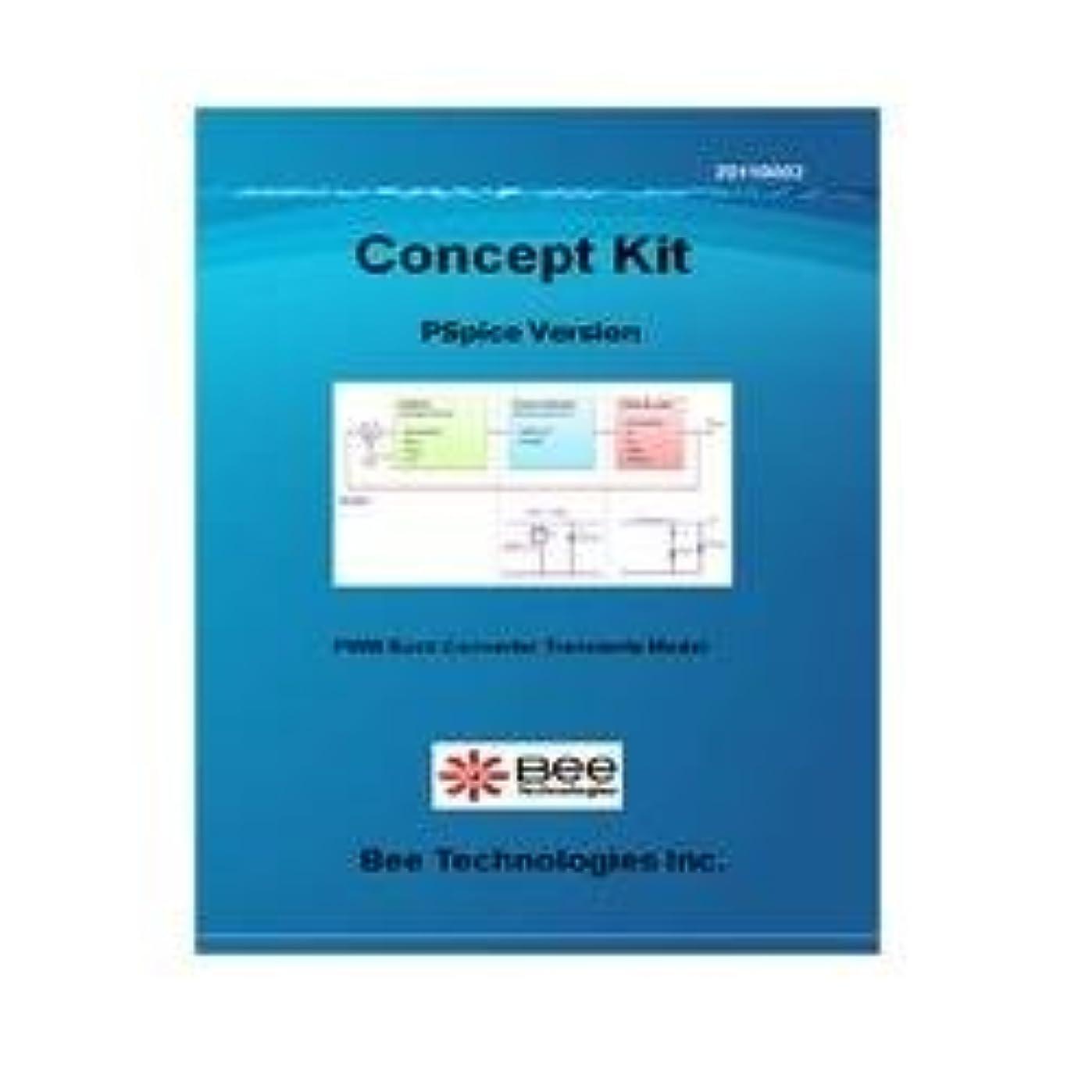 前投薬警察分岐するBee Technologies 降圧コンバータ(過渡解析モデル) 【Concept Kit 004】