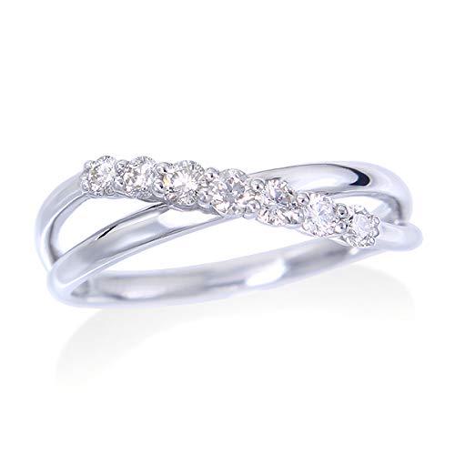 [ジュエリーツツミ]JEWELRY TSUTSUMI プラチナダイヤモンドリング LFR235 7号