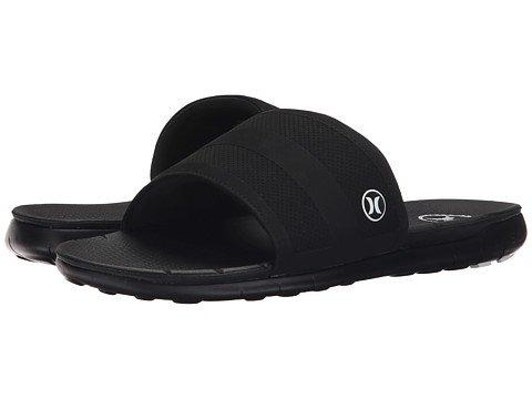 (ハーレー)Hurley メンズサンダル・靴 Phantom Free Slide Black 14 32cm D - Medium [並行輸入品]