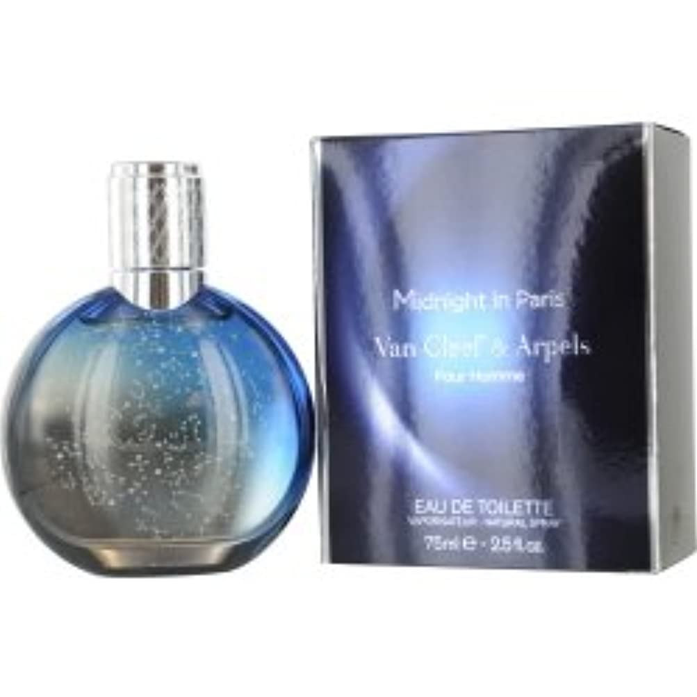 Midnight In Paris (ミッドナイトインパリス) 2.5 oz (75ml) EDT Spray for Men