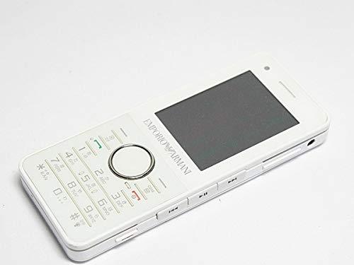 Softbank 830SC ホワイト 白ロム アルマーニ携帯 ARMANI