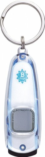 ぺんてる 静電気除去グッズ ビーシェイプ ホワイトパール EASB3-9 パール&ブルー