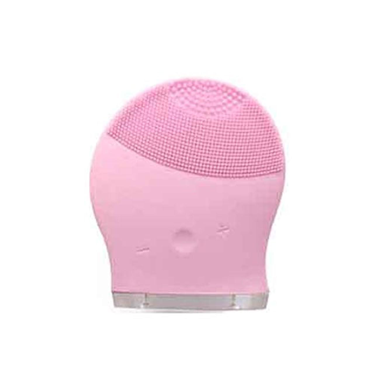 満足させる苛性韻CAFUTY 超音波電気防水クレンジングデバイスの顔の除染孔クレンジングクレンジングデバイス (Color : ブルー)