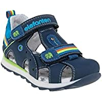 elefanten Boys - Toddler Closed Toe Stars Sandals Straps for Optimal Fit of The Foot