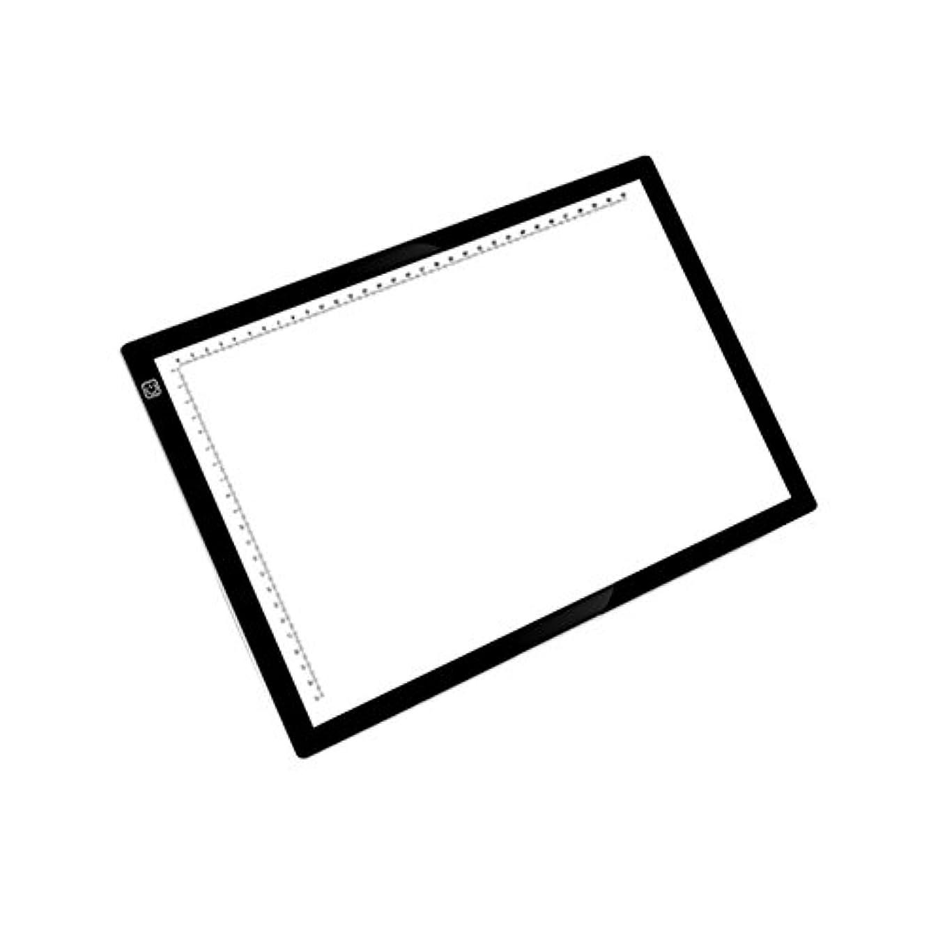 XL® ライトボックストレース、(A4サイズ)、スケッチ、アニメーションの描画、アーティストのためArtcraftトレースライトパッドライトボックスのLED