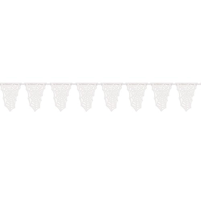 Spider Web Flag Banner スパイダーウェブ旗バナー?ハロウィン?クリスマス?