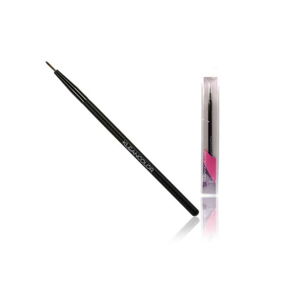 ビリーヤギリマーク不変(6 Pack) KLEANCOLOR Precise Eyeliner Brush (並行輸入品)