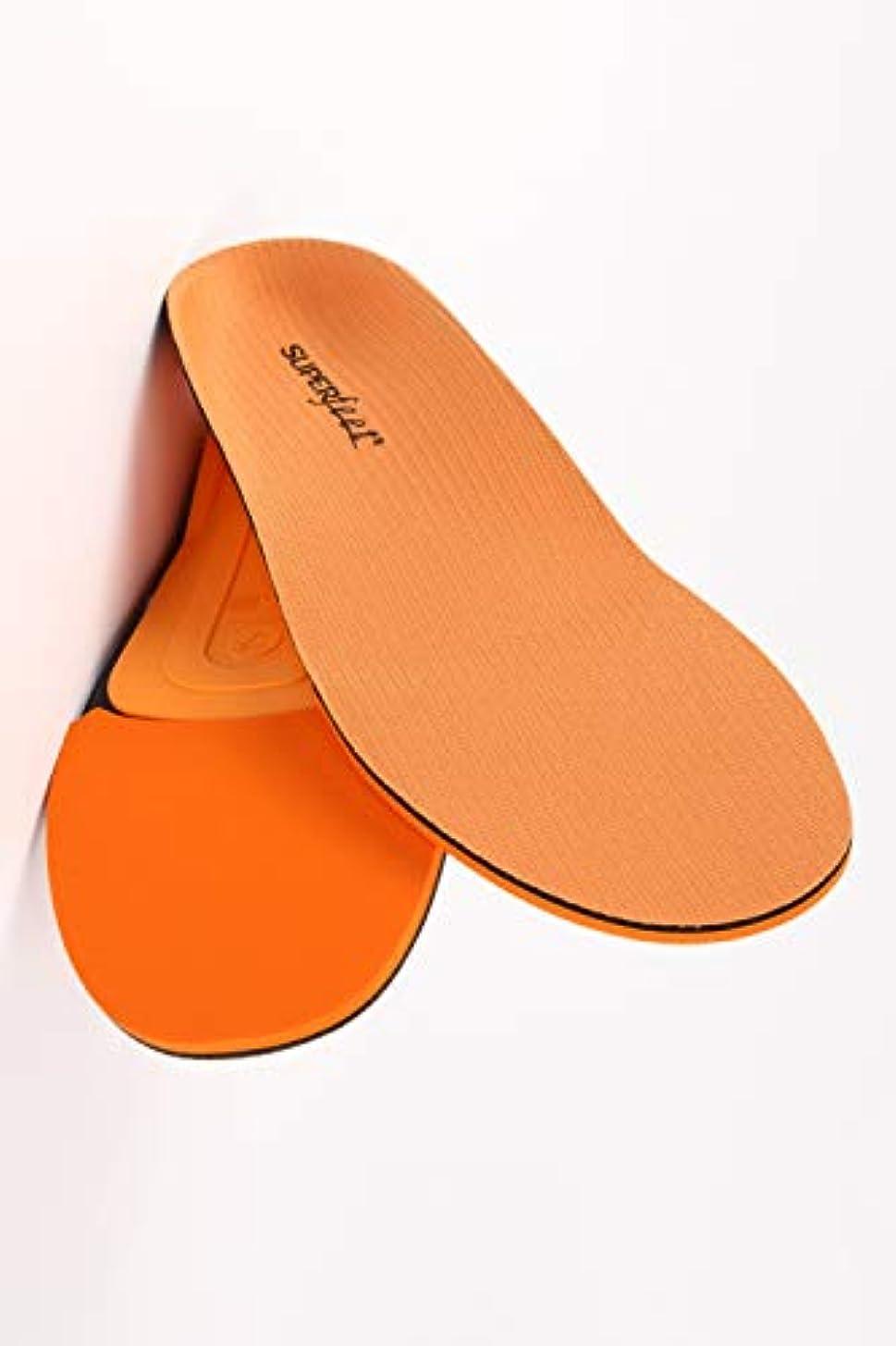 没頭する環境保護主義者錆びSUPER feet [ TRIM FIT ORANGE ] スーパーフィート インソール トリムフィット オレンジ
