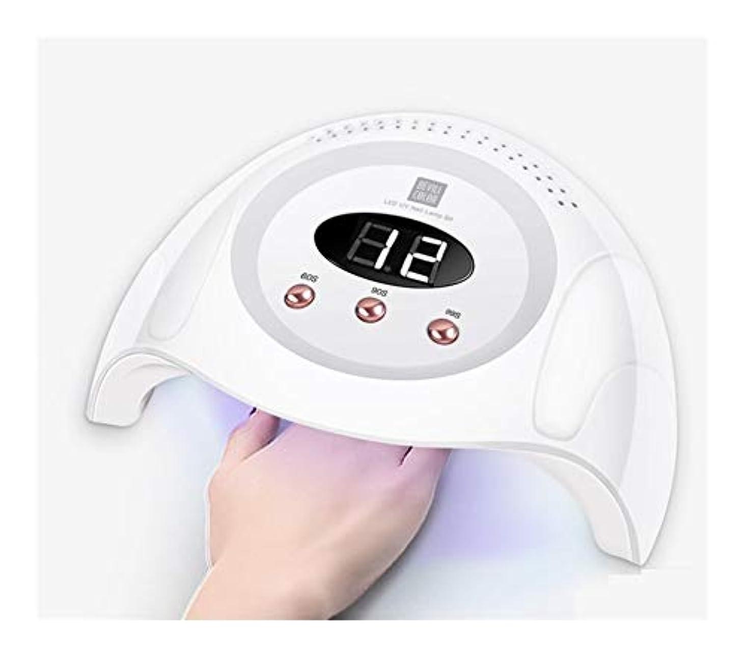 アレルギー性アパート有毒LittleCat 90Wスマートセンサプラスチックネイルポリッシュ光線療法機ドライヤー第3ギアは、速乾性黒手のタイミングでありません (色 : European standard circular plug)