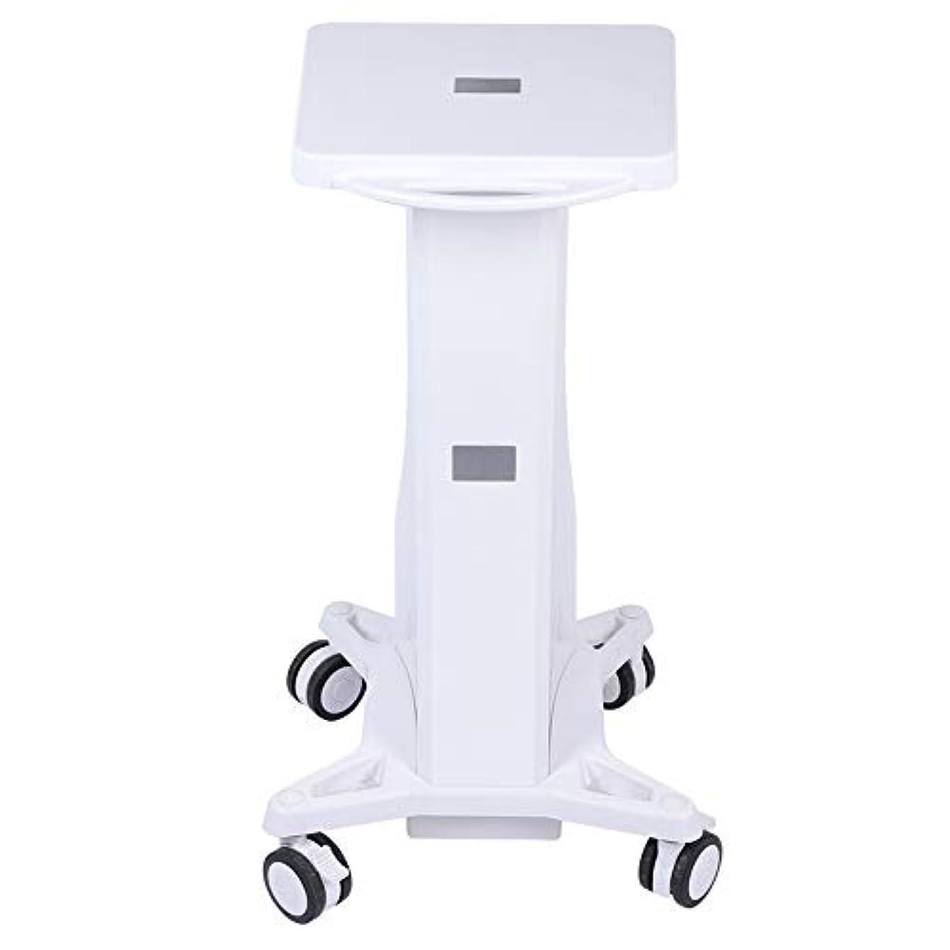 ウサギボット床大広間の器械の皿のトロリー、安定した台の圧延のカートの車輪の立場のトロリー貯蔵のカートの美容院の美機械ホールダー