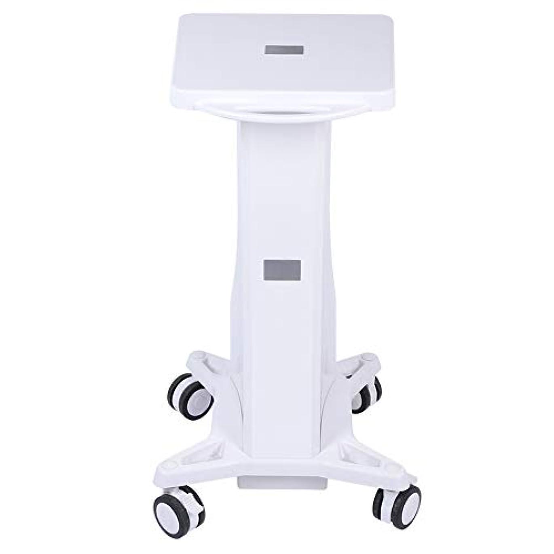 期間測定芸術大広間の器械の皿のトロリー、安定した台の圧延のカートの車輪の立場のトロリー貯蔵のカートの美容院の美機械ホールダー