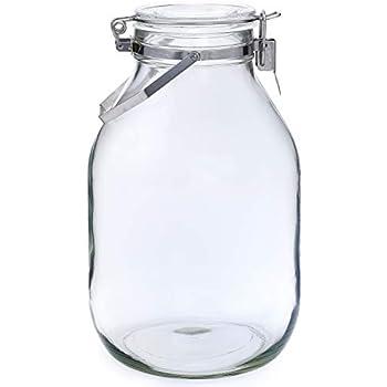 セラーメイト保存びん 梅酒・果実酒びん 4L 日本製 取手付 220339