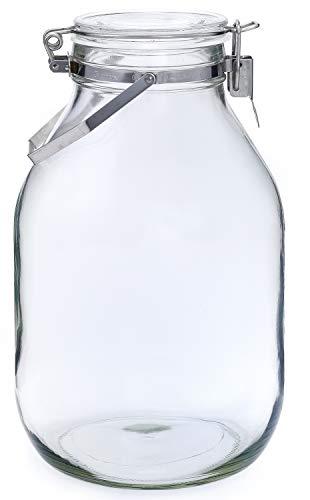 RoomClip商品情報 - セラーメイト保存びん 梅酒・果実酒びん 4L 日本製 取手付 220339