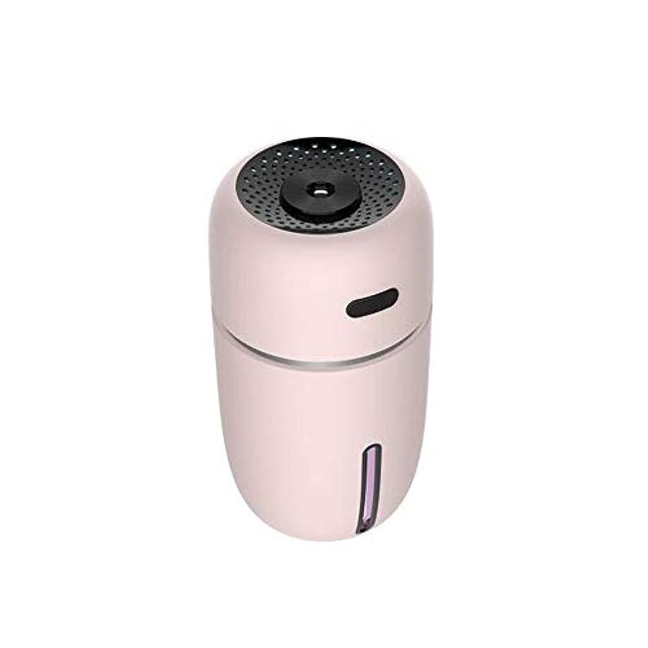 梨父方のドアミラーZXF 新しいナノ水道メーターabs材料スプレー楽器美容機器usb充電自動車オフィス空気浄化水道メーターミニ加湿器ピンク黒セクション 滑らかである (色 : Pink)