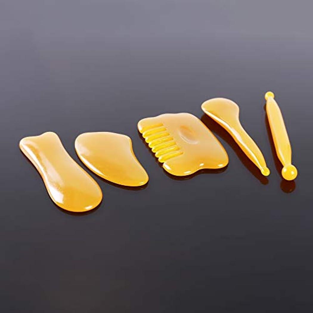 期限歯科医良性MARUIKAO 5点セット 刮痧サージボード カッサリフトプレート かっさプレート 美容 小顔 美肌カッサ美顔器