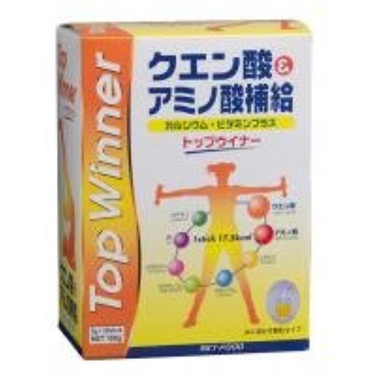 柔和富減らすクエン酸&アミノ酸補給 トップウィナー 5g×30袋 0834372