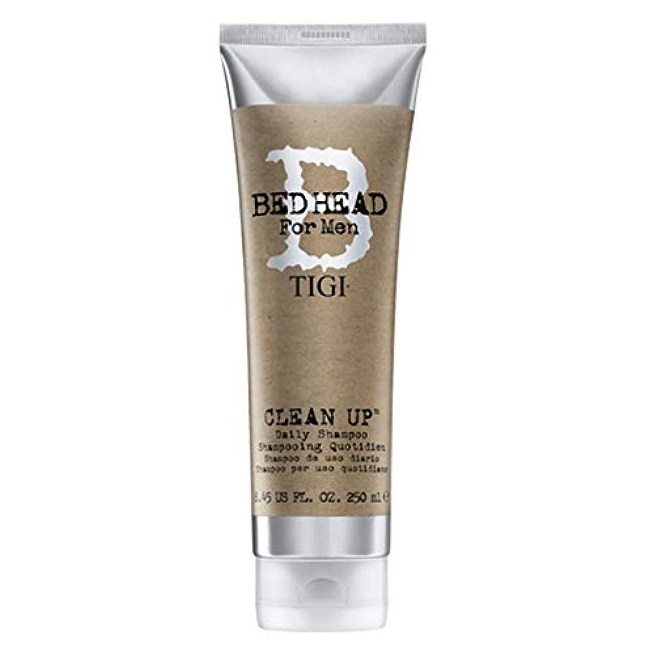スクラップブックご飯フレアティジー Bed Head B For Men Clean Up Daily Shampoo (New Packaging) 250ml/8.45oz並行輸入品