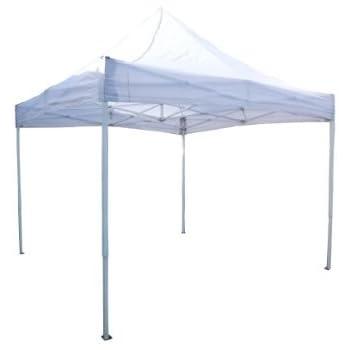 【アウトレット・中古】 フルアルミワンタッチテント 3m×3mサイズ (白)【現品限り】