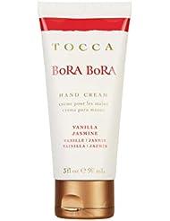 TOCCAVOYAGE ハンドクリーム ボラボラ90mL(手指保湿?バニラとジャスミンの柔らかな香り)