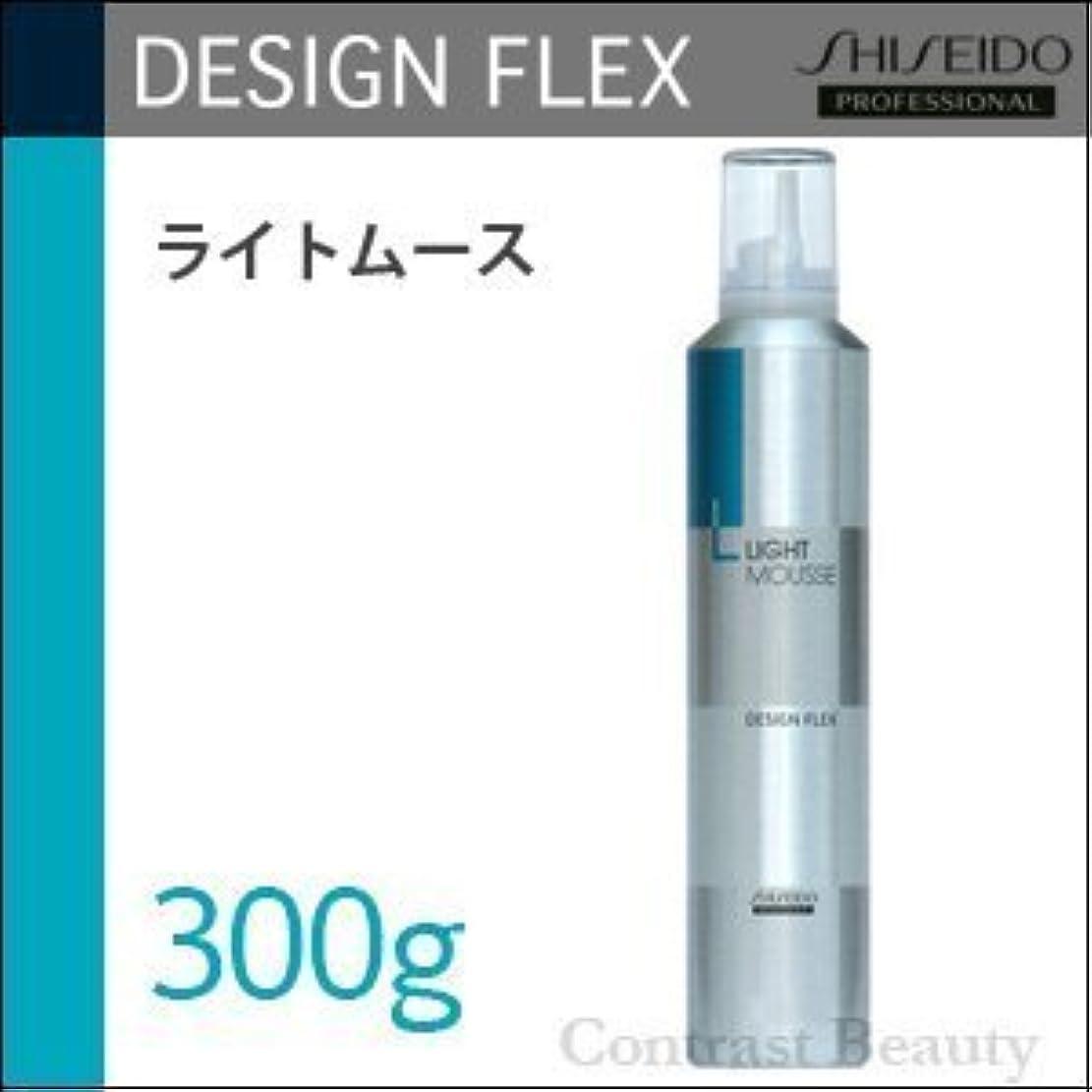 調和極貧足枷資生堂プロフェッショナル デザインフレックス ライトムース 300g