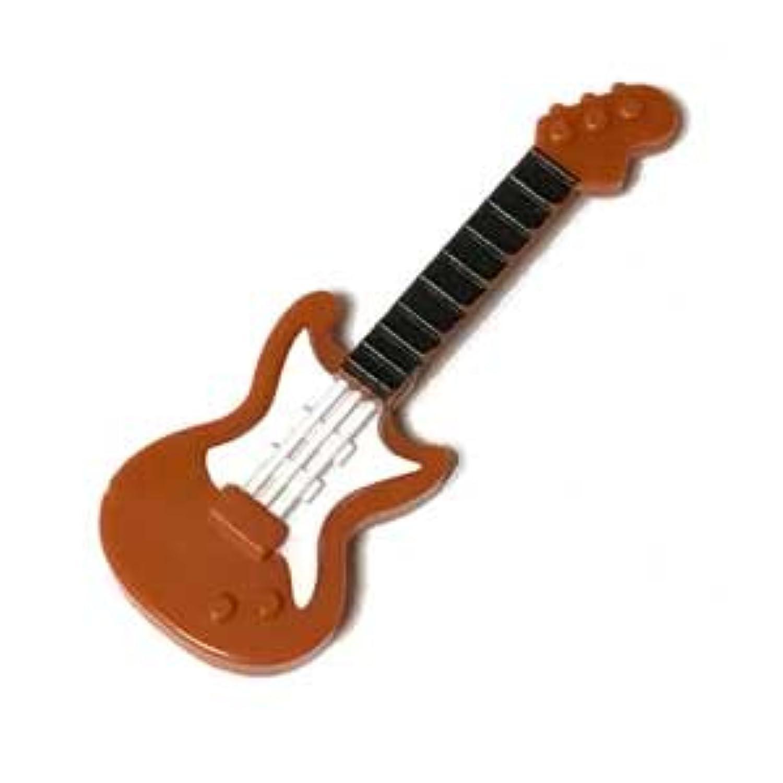 LEGOカスタム品 楽器 エレキギター Dark Orange (white pickguard, Black neck) [並行輸入品]