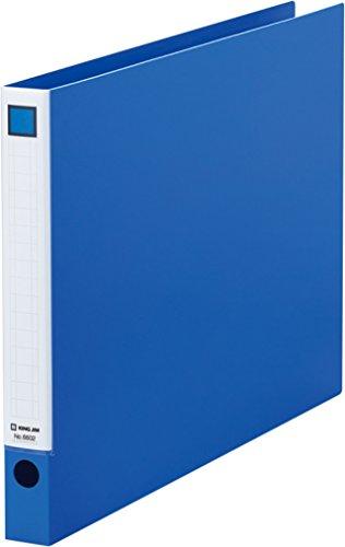 [해외]킹 레버 링 파일 A3 가로 적정화물 매수 250 장 6602 블루/Kingjim lever ring File A3 Horizontal proper storage number 250 sheets 6602 Blue