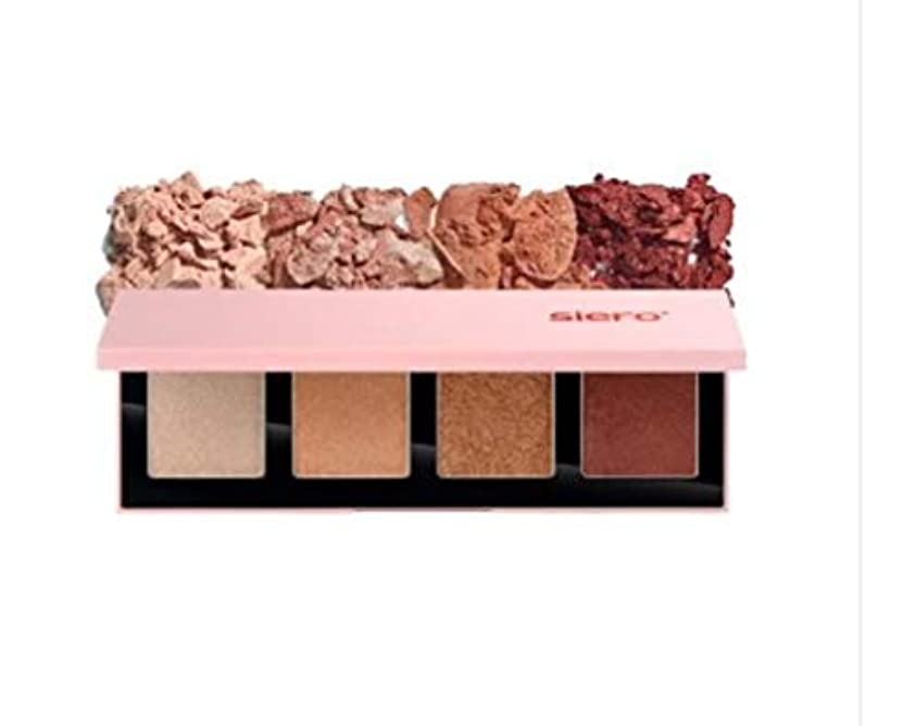悲惨床を掃除するフィットネスSIERO Jealoufy archive Eyeshadow Palette 4色のアイシャドウ(並行輸入品)