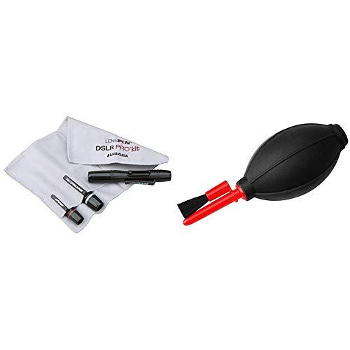 HAKUBA メンテナンス用品 レンズペンプロキットプラス 3本セット+ヘッドスペア+収納ファイバークロス ブラック KMC-LP23BKTP  メンテナンス用品 シリコンブロアーブラシ ブラック KMC-60BK