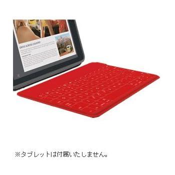 ロジクール ウルトラポータブル キーボード for iPad レッド iK1041RD