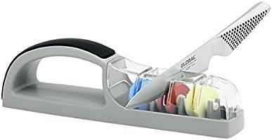 Global 550/GB Ceramic Water Sharpener Knife Sharpener, Multicolored