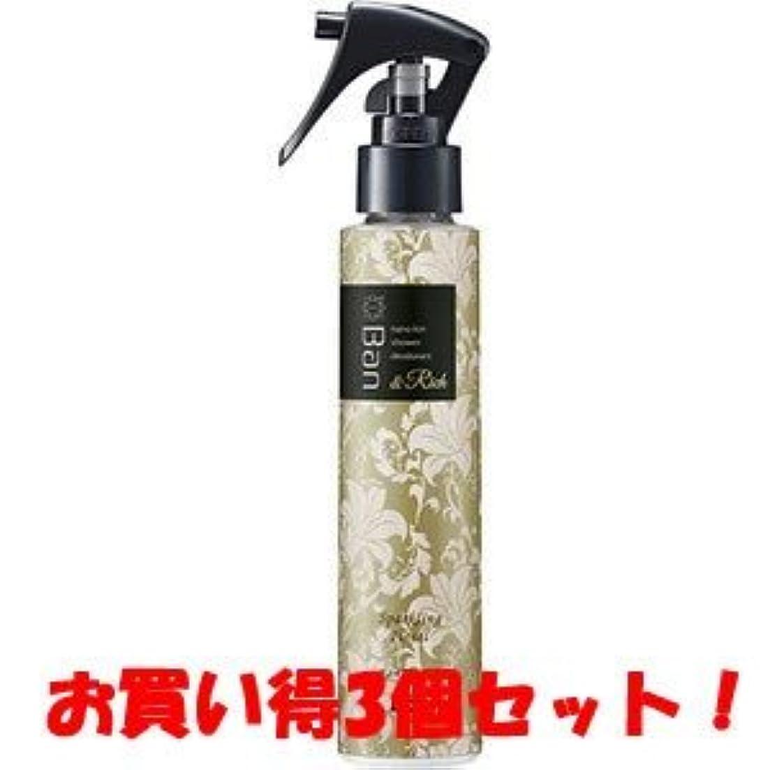平和な植生ぼんやりした(2016年冬の新商品)(ライオン)Ban(バン) シャワーデオドラント&Rich スパークリングフローラルの香り 120ml(医薬部外品)(お買い得3個セット)
