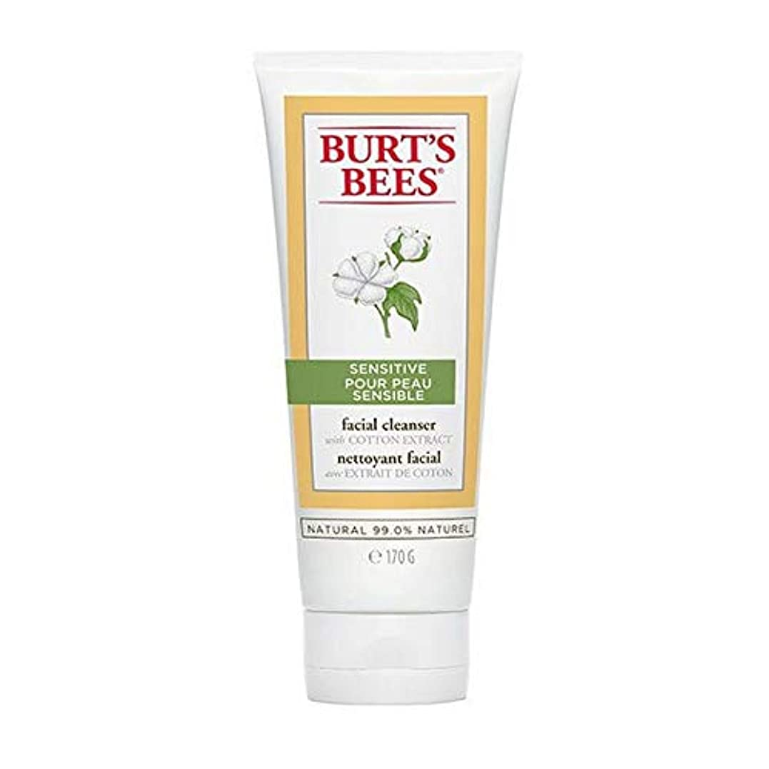 ファセットネブ単語[Burt's Bees ] バーツビー敏感肌洗顔料の170グラム - Burt's Bees Sensitive Skin Facial Cleanser 170g [並行輸入品]