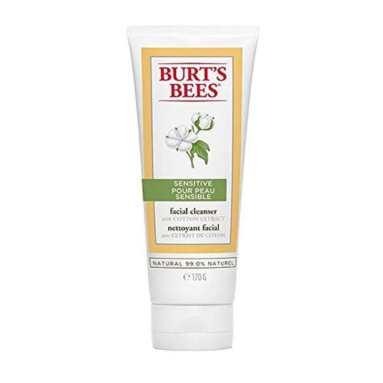 柔和切る表面[Burt's Bees ] バーツビー敏感肌洗顔料の170グラム - Burt's Bees Sensitive Skin Facial Cleanser 170g [並行輸入品]