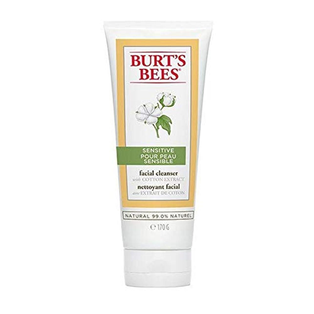画面と闘う落花生[Burt's Bees ] バーツビー敏感肌洗顔料の170グラム - Burt's Bees Sensitive Skin Facial Cleanser 170g [並行輸入品]
