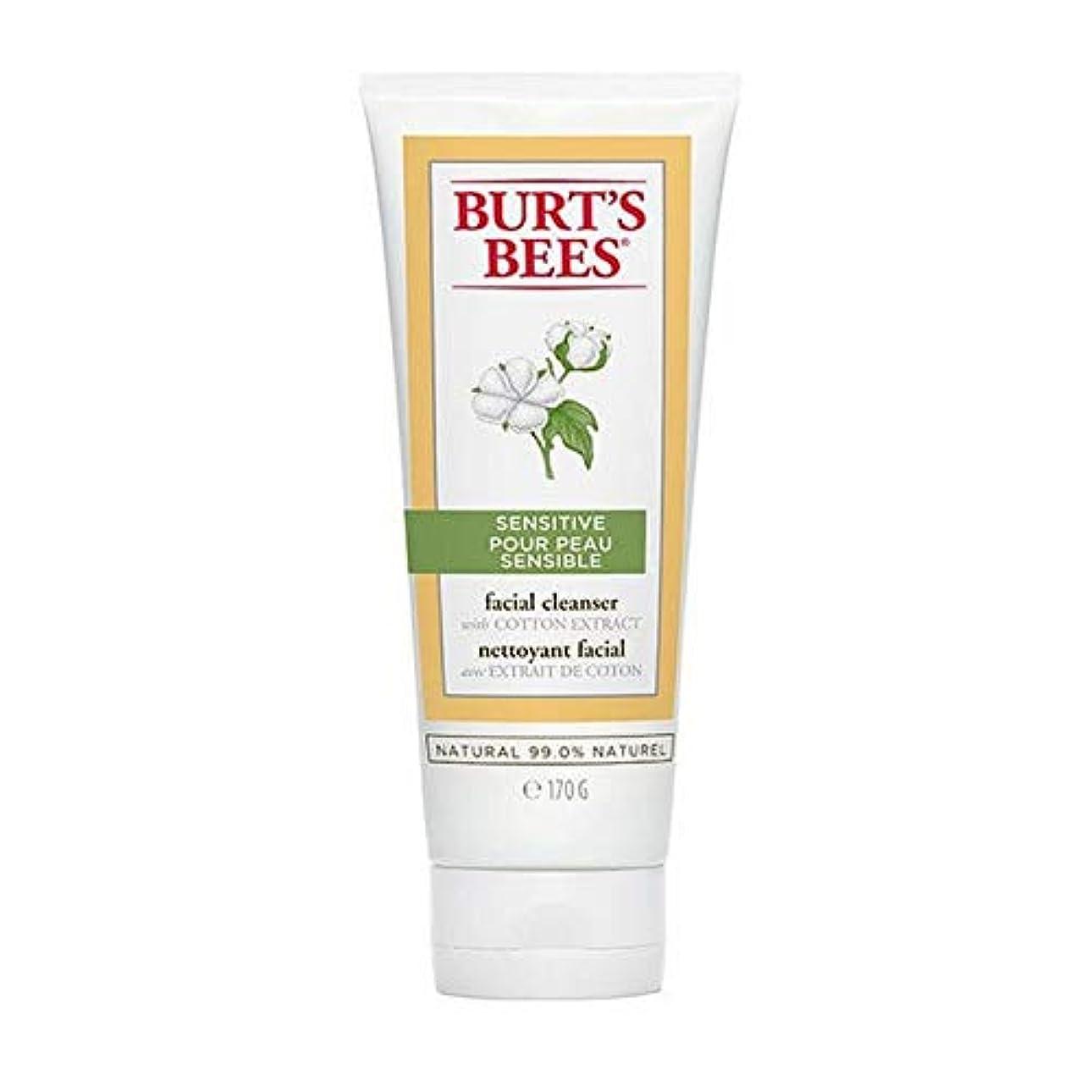 部族適用済みしおれた[Burt's Bees ] バーツビー敏感肌洗顔料の170グラム - Burt's Bees Sensitive Skin Facial Cleanser 170g [並行輸入品]