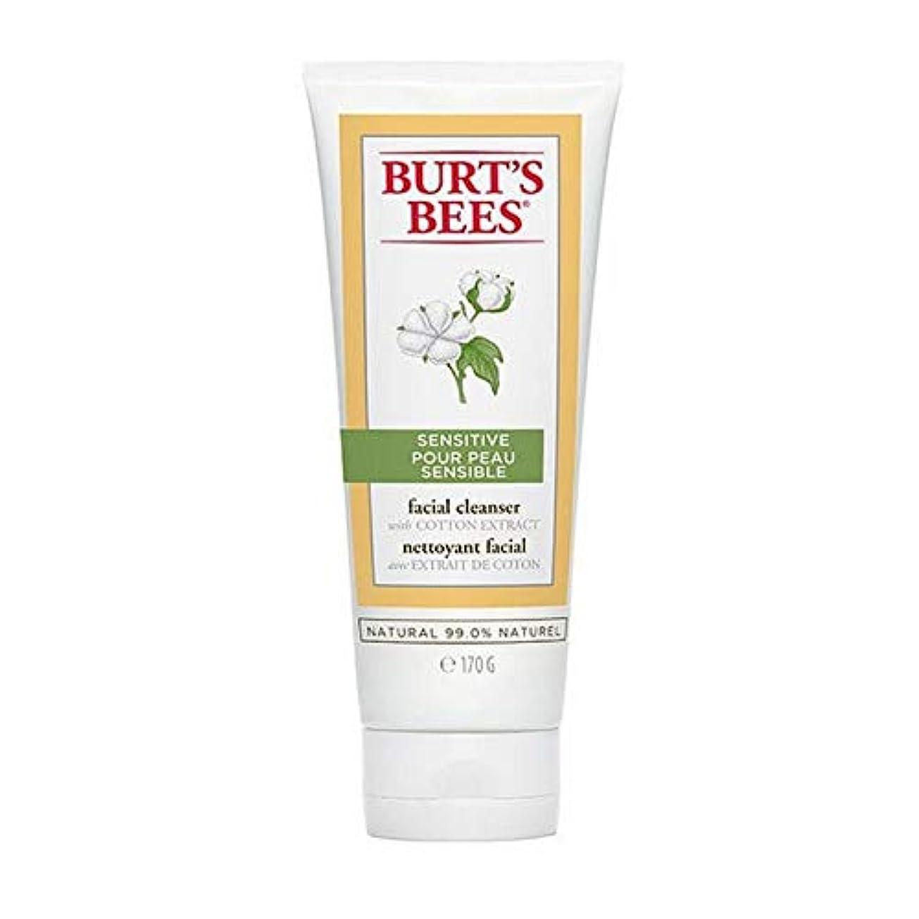 敬の念挑発する実り多い[Burt's Bees ] バーツビー敏感肌洗顔料の170グラム - Burt's Bees Sensitive Skin Facial Cleanser 170g [並行輸入品]