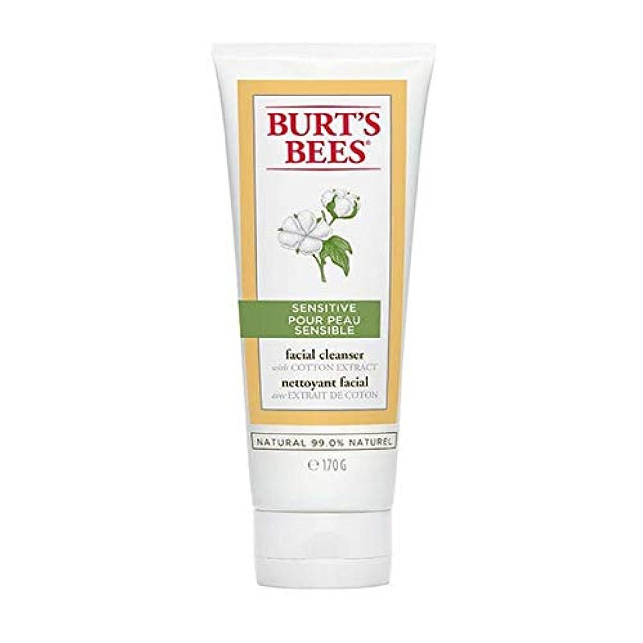 掘るミュージカル貧困[Burt's Bees ] バーツビー敏感肌洗顔料の170グラム - Burt's Bees Sensitive Skin Facial Cleanser 170g [並行輸入品]