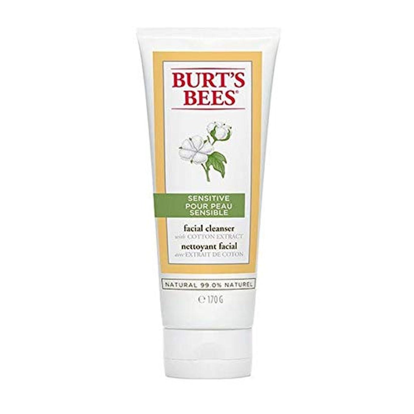 傀儡地雷原かまど[Burt's Bees ] バーツビー敏感肌洗顔料の170グラム - Burt's Bees Sensitive Skin Facial Cleanser 170g [並行輸入品]