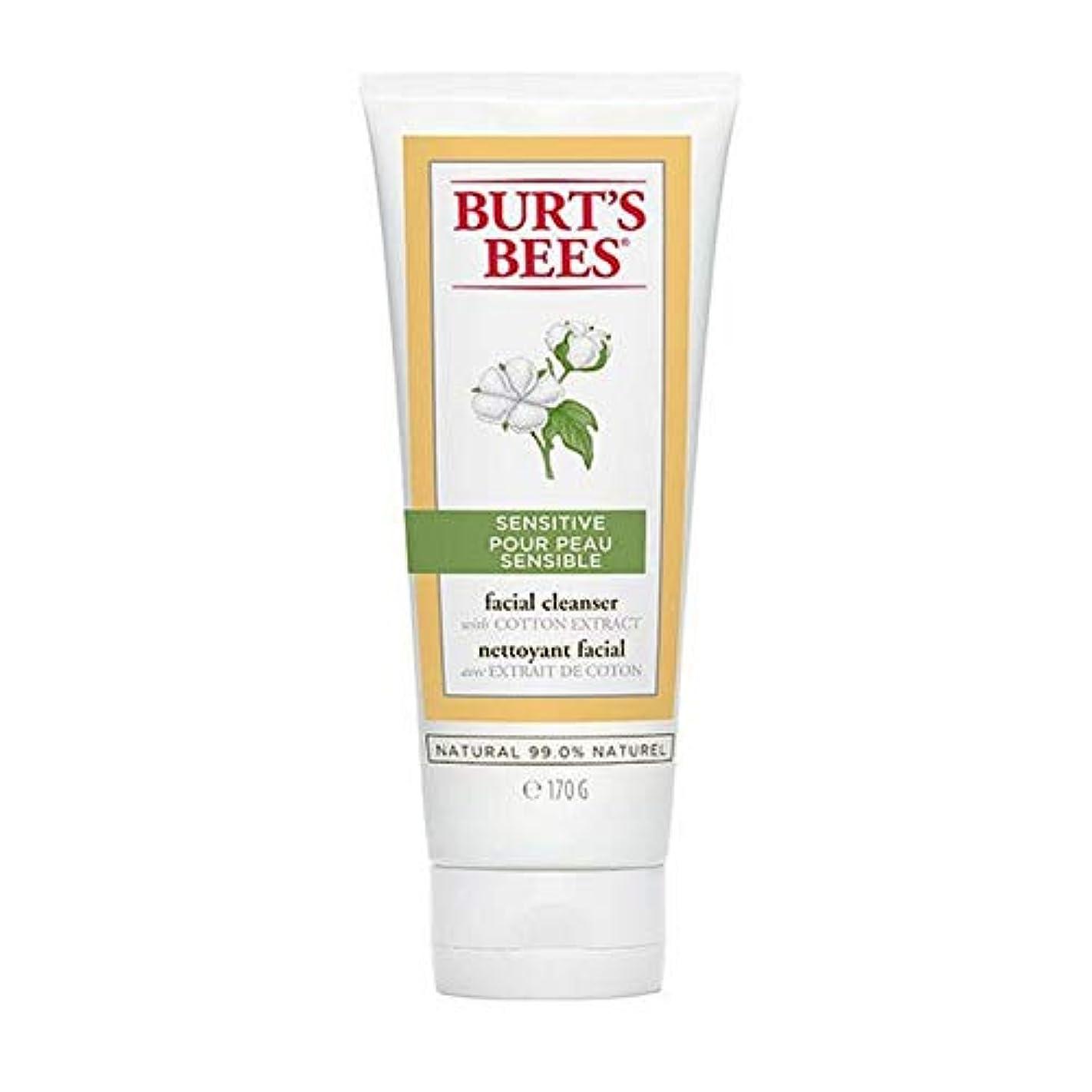 クルーレーザキャラクター[Burt's Bees ] バーツビー敏感肌洗顔料の170グラム - Burt's Bees Sensitive Skin Facial Cleanser 170g [並行輸入品]
