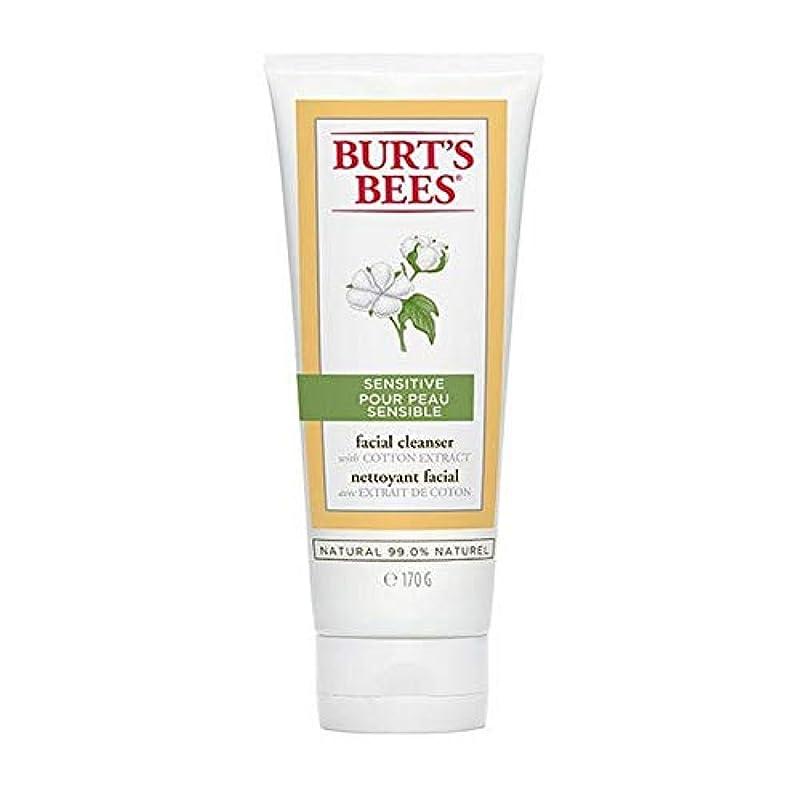 大腿然としたとげのある[Burt's Bees ] バーツビー敏感肌洗顔料の170グラム - Burt's Bees Sensitive Skin Facial Cleanser 170g [並行輸入品]