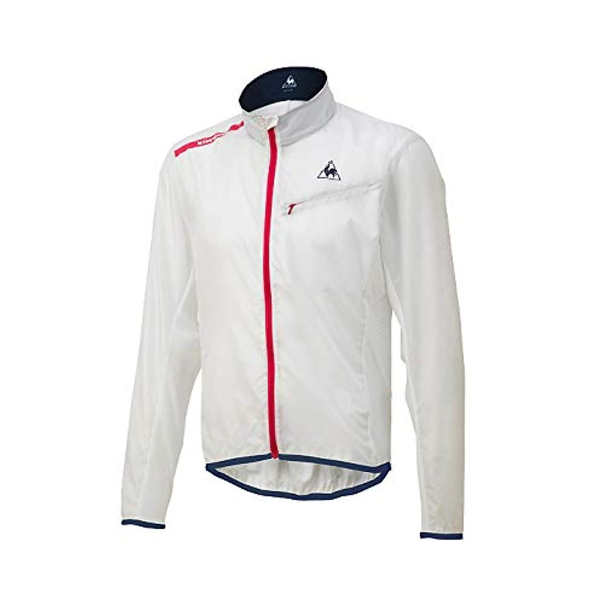 フェミニンアルプス階層le coq sportif ルコックスポルティフ QCMNGC22 ホワイト(半透明) Sサイズ クリアジャケット LCS4548951680507