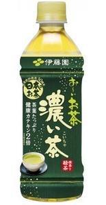 お〜いお茶 濃い味 500ml ×24本