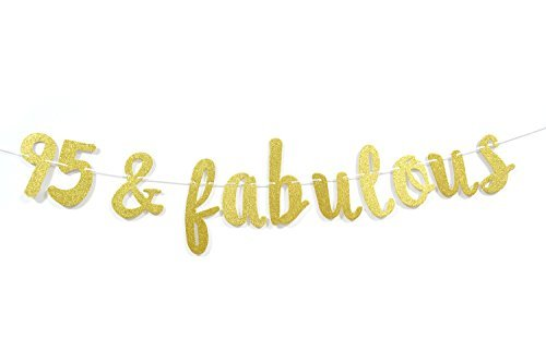 95& Fabulous Gold Glitter筆記体b...