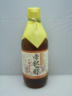 帝釈の酢 【後藤の赤酢】 500ml