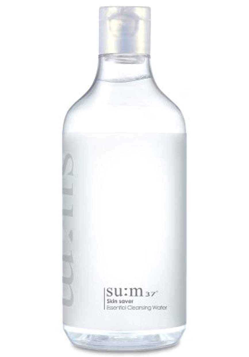 慢性的アーサーコナンドイルコンドームSUM37/スム37 スキン セーバー エッセンシャルクレンジング honest skin海外直送品 (Skin Saver Essential Cleansing Water 400ml)