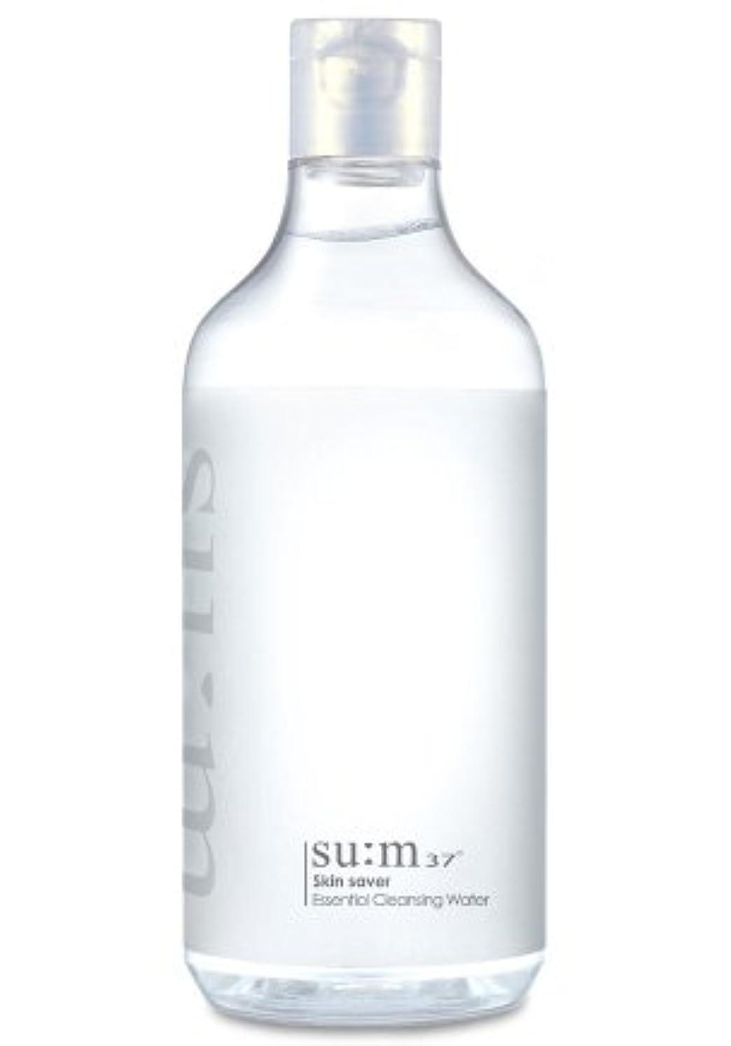 階段沿ってトークSUM37/スム37 スキン セーバー エッセンシャルクレンジング honest skin海外直送品 (Skin Saver Essential Cleansing Water 400ml)