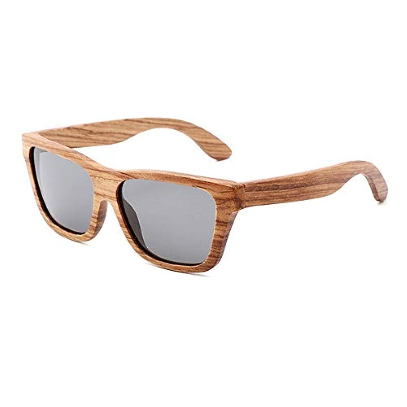 データ罰足枷木製サングラス/旅行、アウトドアスポーツ、アクティビティの男性用、家族や友達へのプレゼントとしてのUV400偏光ウッドサングラス/ハンドメイドメガネ