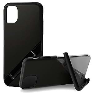 カンピーノ campino iPhone 11 Pro ケース OLE stand スタンド機能 耐衝撃 スリム 動画 Qi ワイヤレス充電対応 マット ブラック 黒 Matte