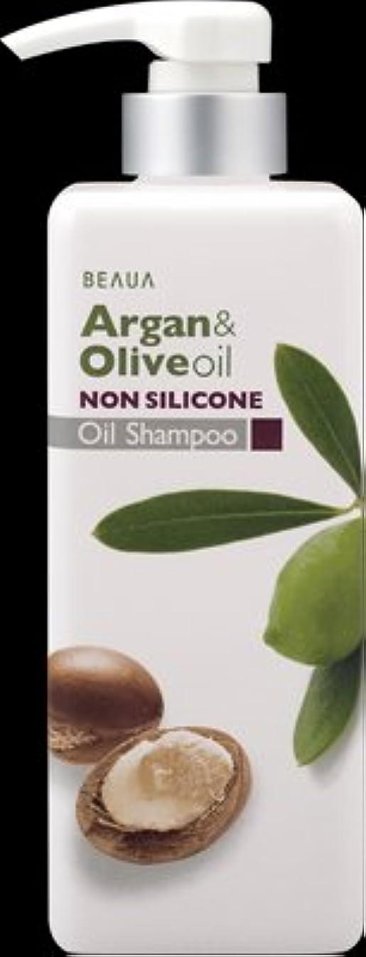 欠伸誘発する匿名熊野油脂 ビューア アルガン&オリーブ オイルシャンプー 550ml ×16点セット (4513574019010)