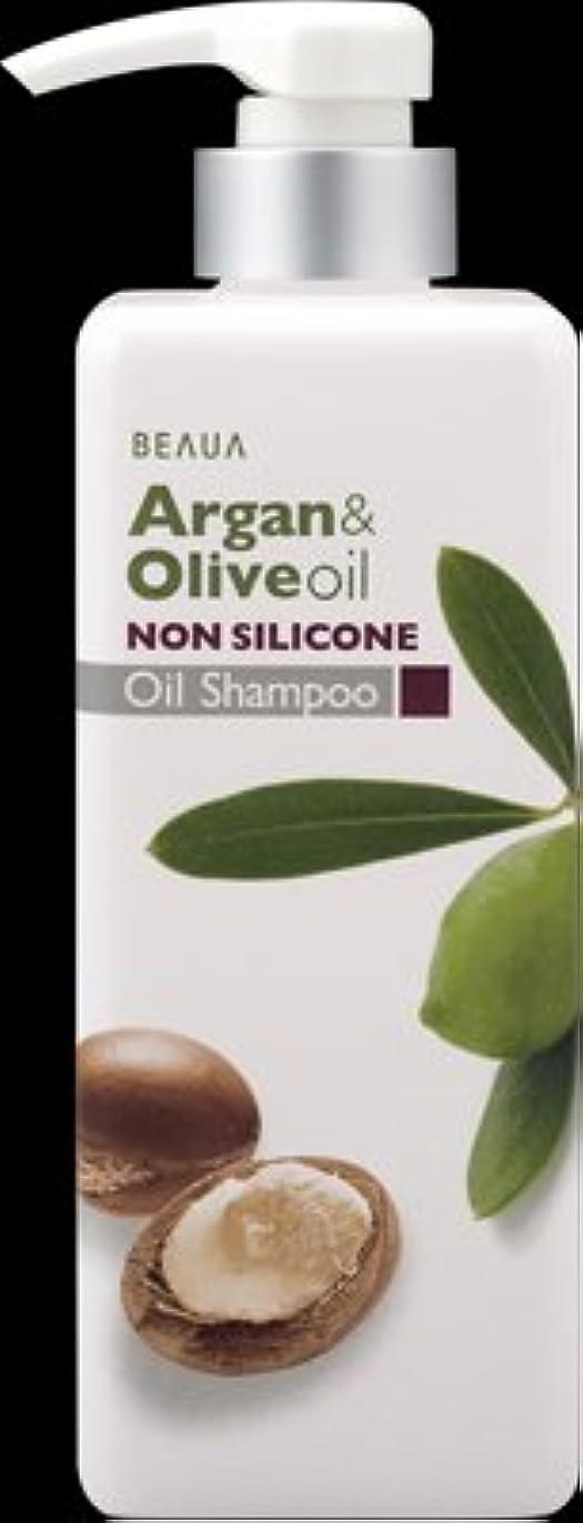 熊野油脂 ビューア アルガン&オリーブ オイルシャンプー 550ml ×16点セット (4513574019010)